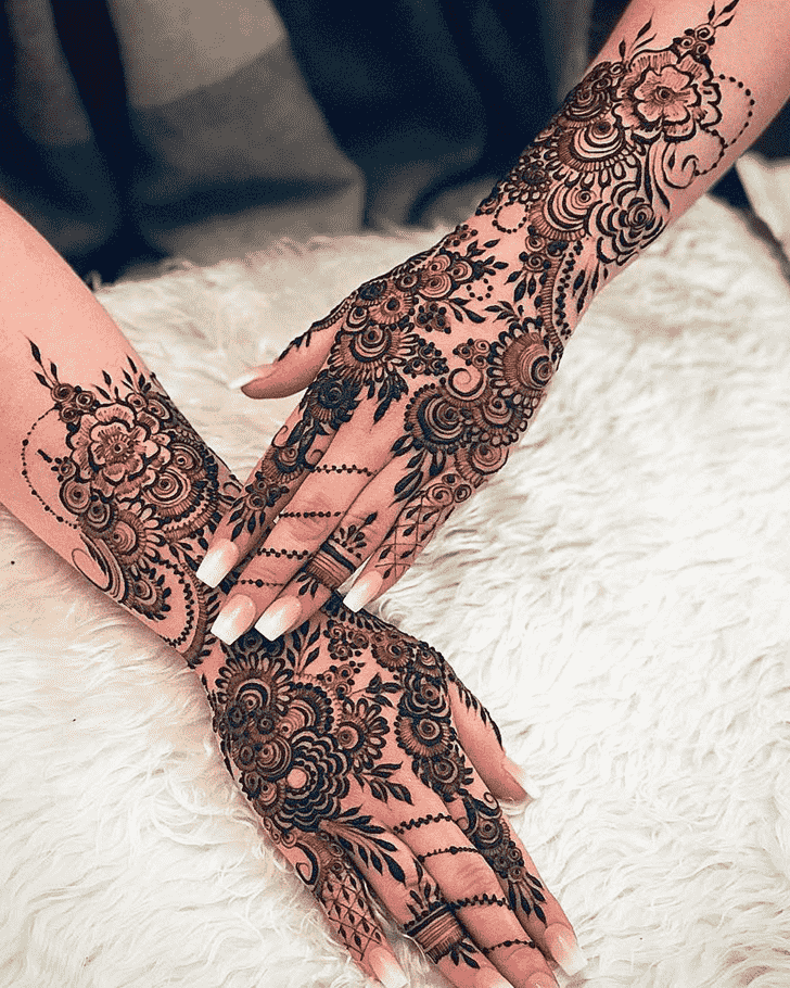 Magnificent Copenhagen Henna Design