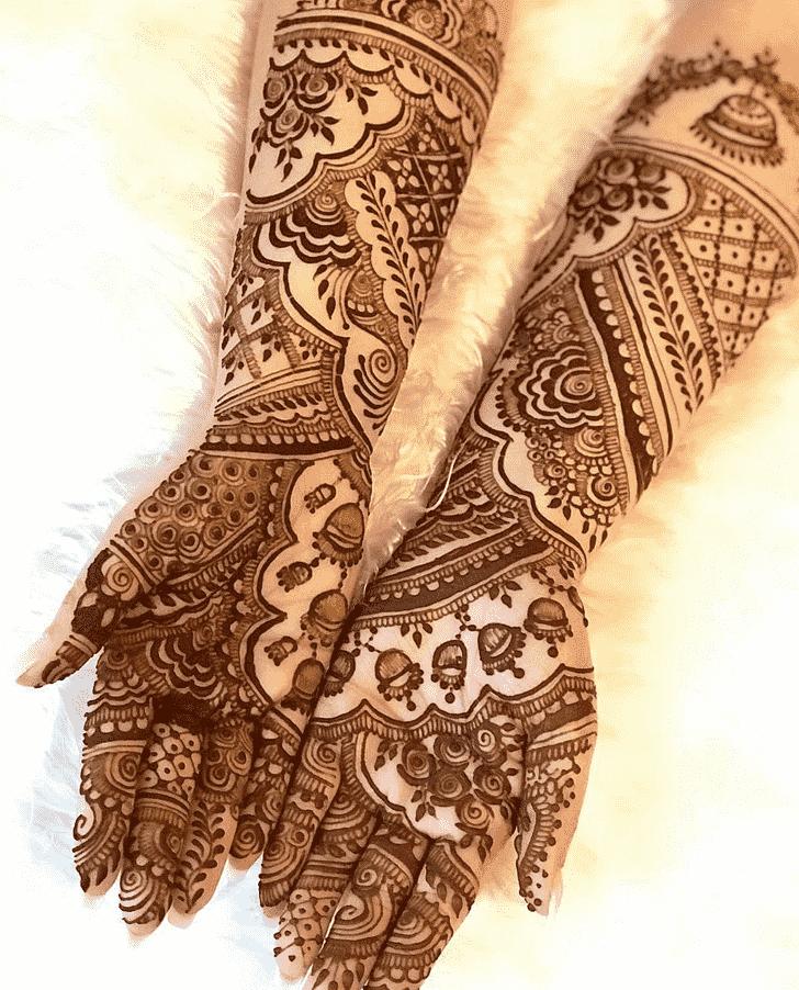 Pleasing Copenhagen Henna Design