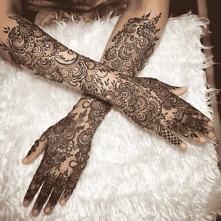 Refined Copenhagen Henna Design