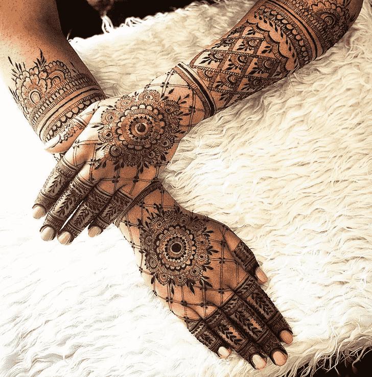 Stunning Copenhagen Henna Design