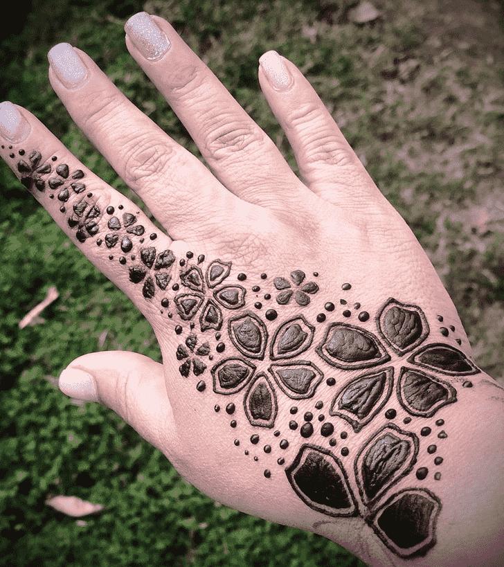 Adorable Cute Henna design