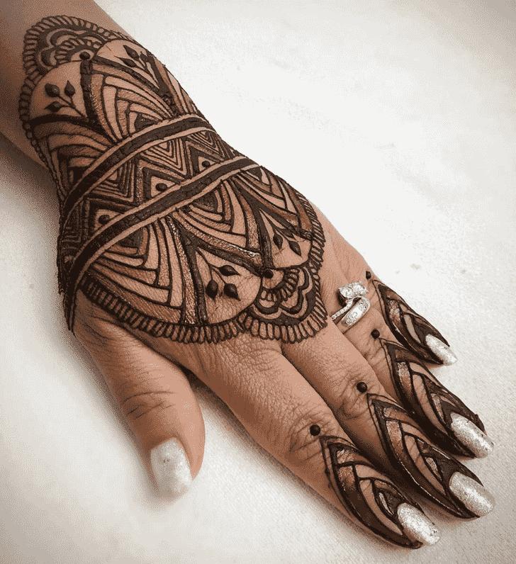 Captivating Cute Henna design