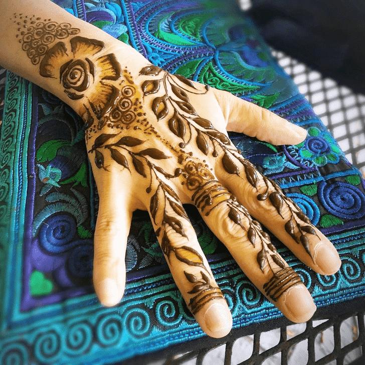 Charming Cute Henna design