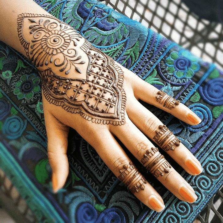 Classy Cute Henna design