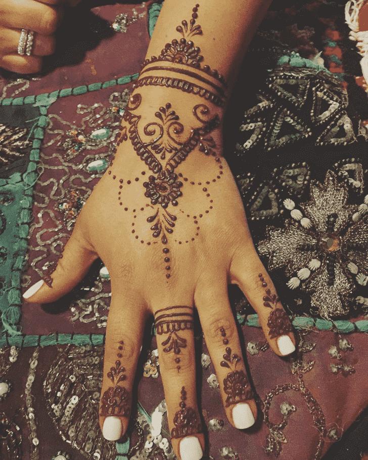 Adorable Dallas Henna Design