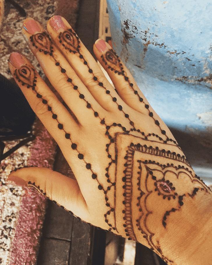 Beauteous Dallas Henna Design