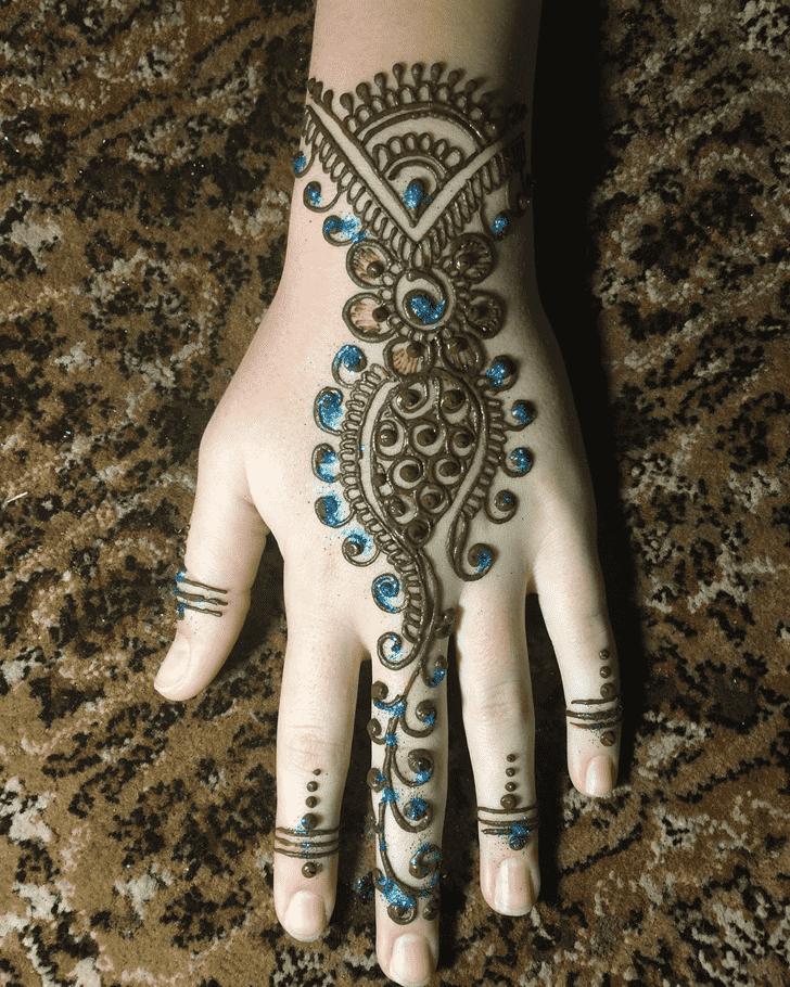 Classy Dallas Henna Design