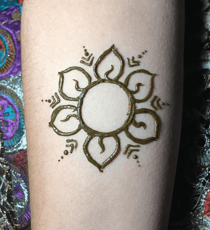 Comely Dallas Henna Design