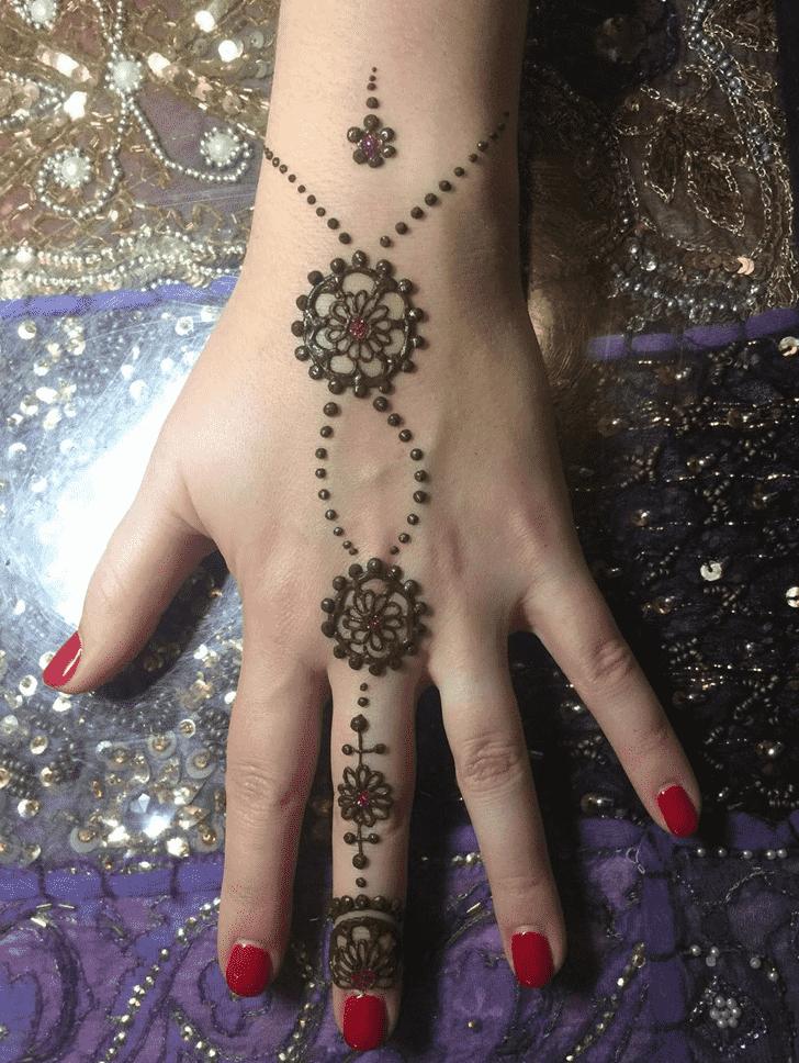 Dazzling Dallas Henna Design