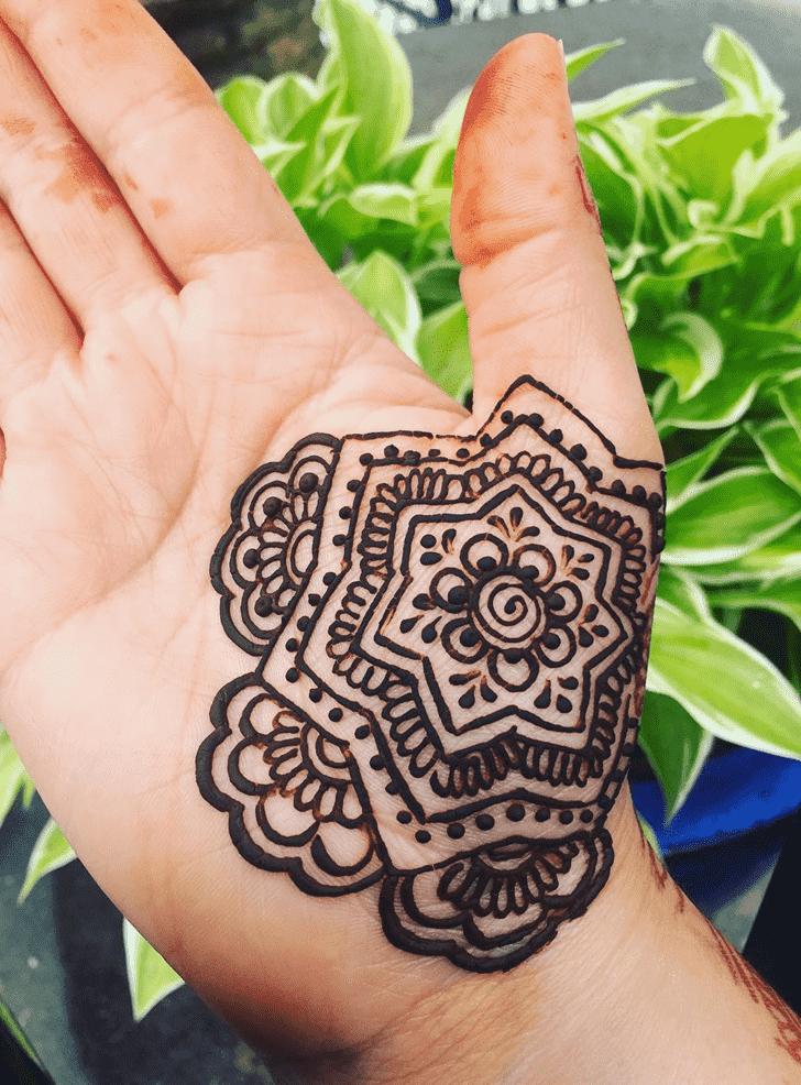 Delightful Dallas Henna Design