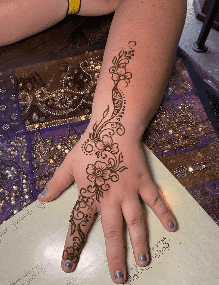 Fair Dallas Henna Design