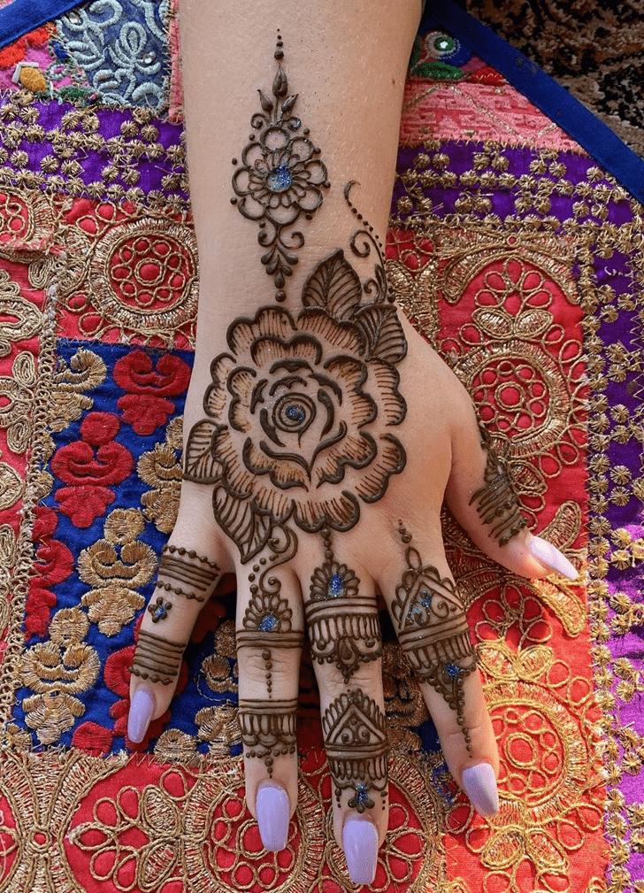 Fetching Dallas Henna Design