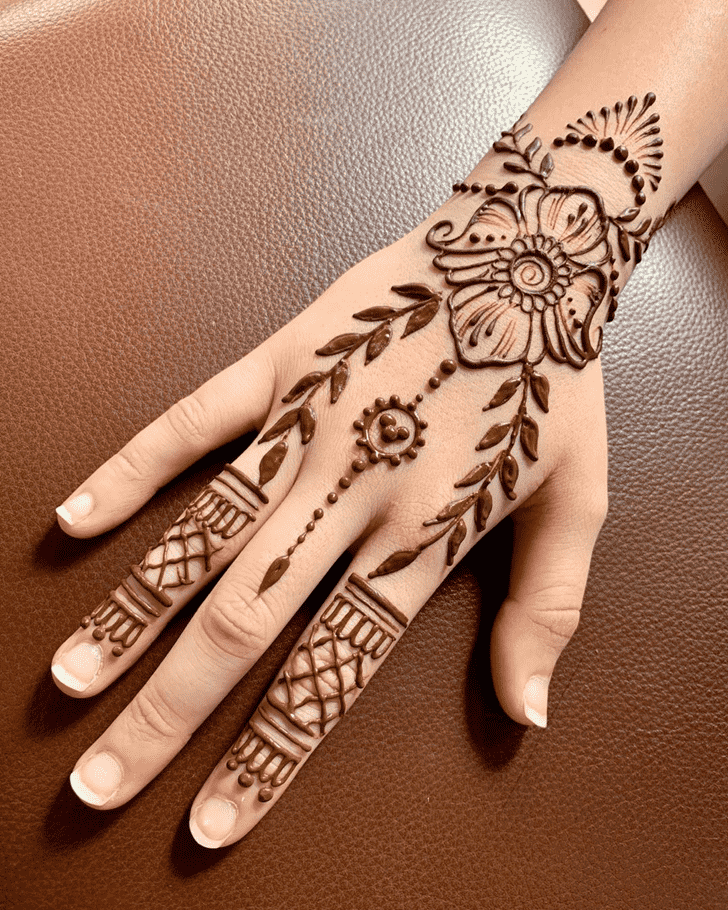 Resplendent Dallas Henna Design