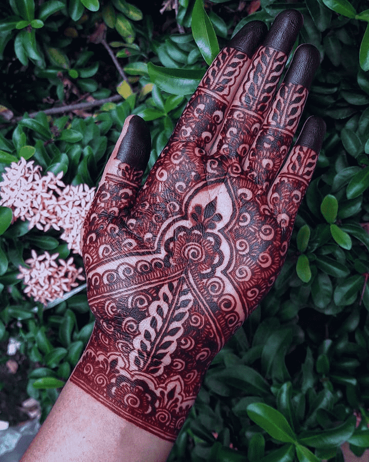 Splendid Dallas Henna Design
