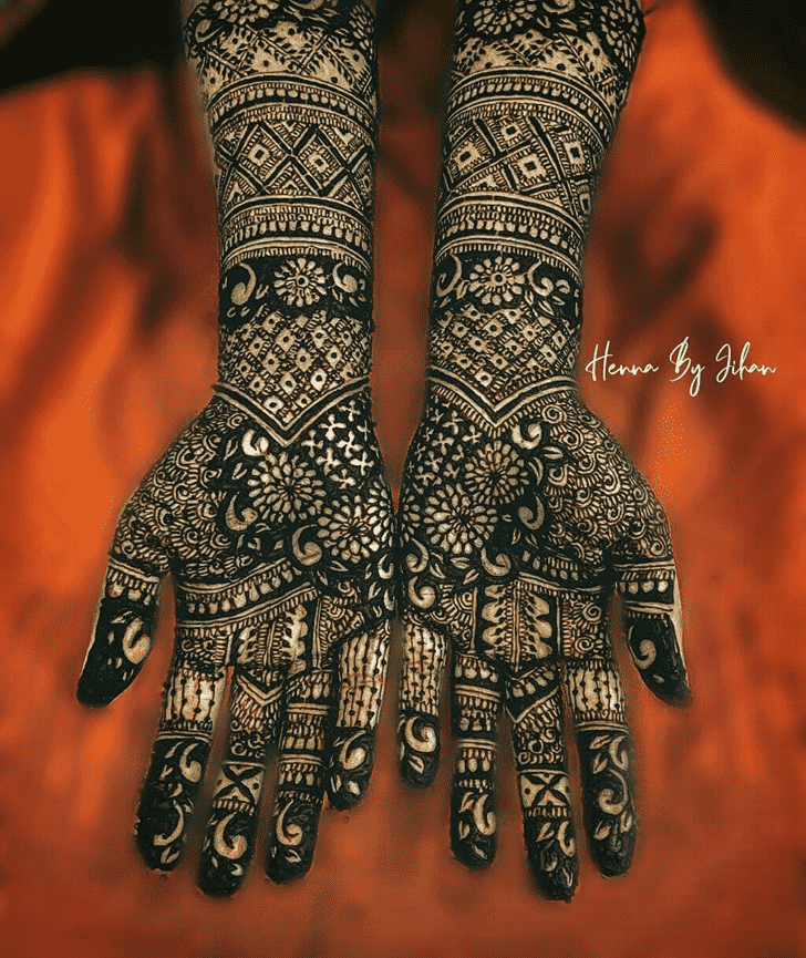 Wonderful Dallas Mehndi Design