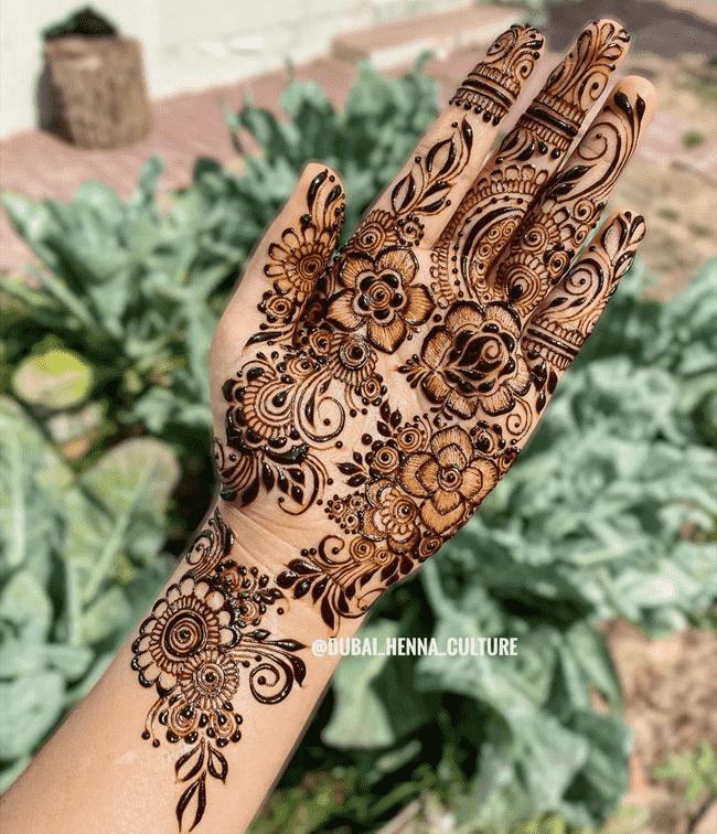 Adorable Darjeeling Henna Design