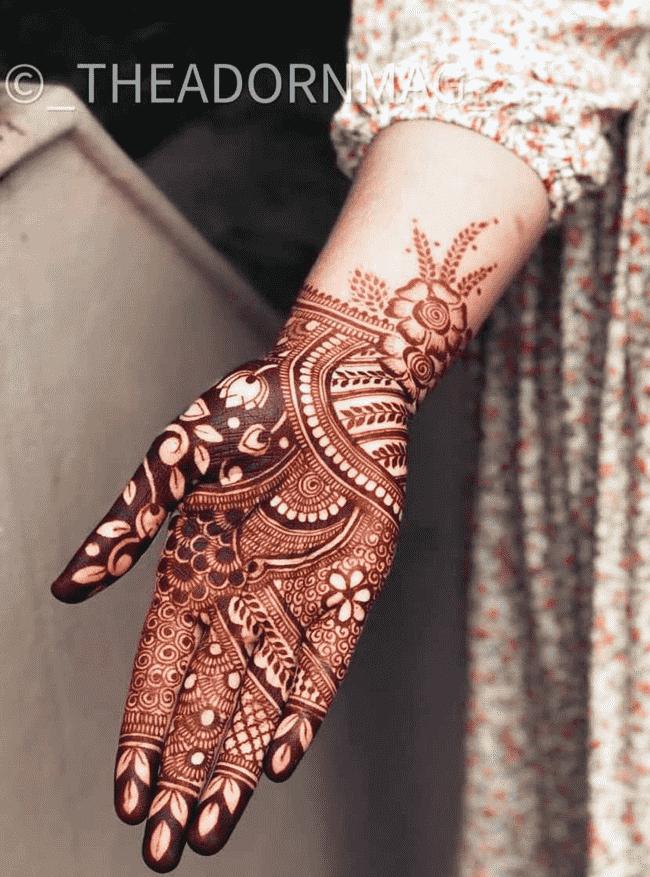 Appealing Darjeeling Henna Design