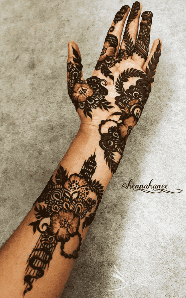 Beauteous Darjeeling Henna Design