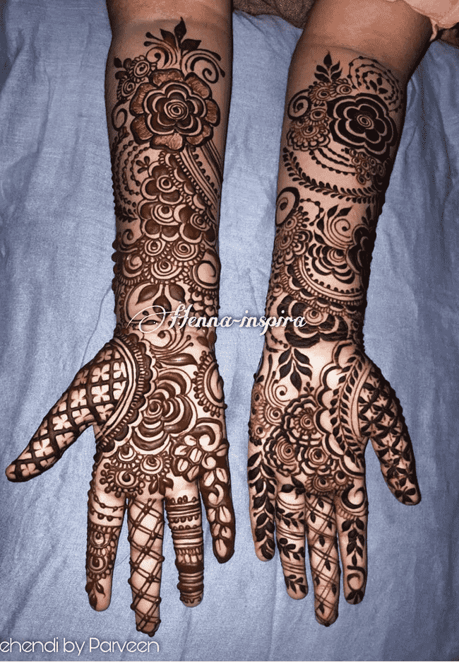 Charming Darjeeling Henna Design