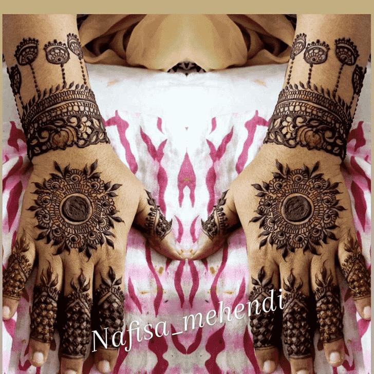Adorable Denver Henna Design