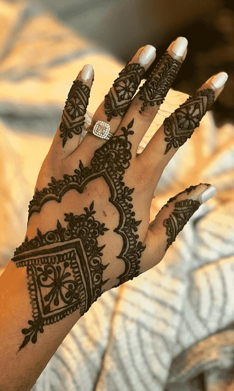 Bewitching Denver Henna Design