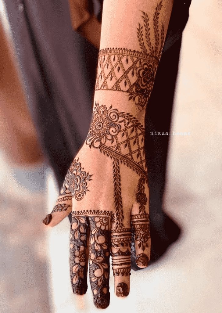 Charming Denver Henna Design