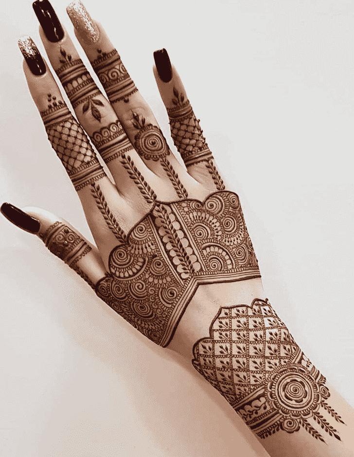 Adorable Desi Henna Design