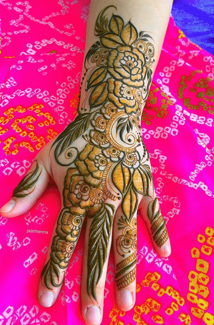 Angelic Desi Henna Design