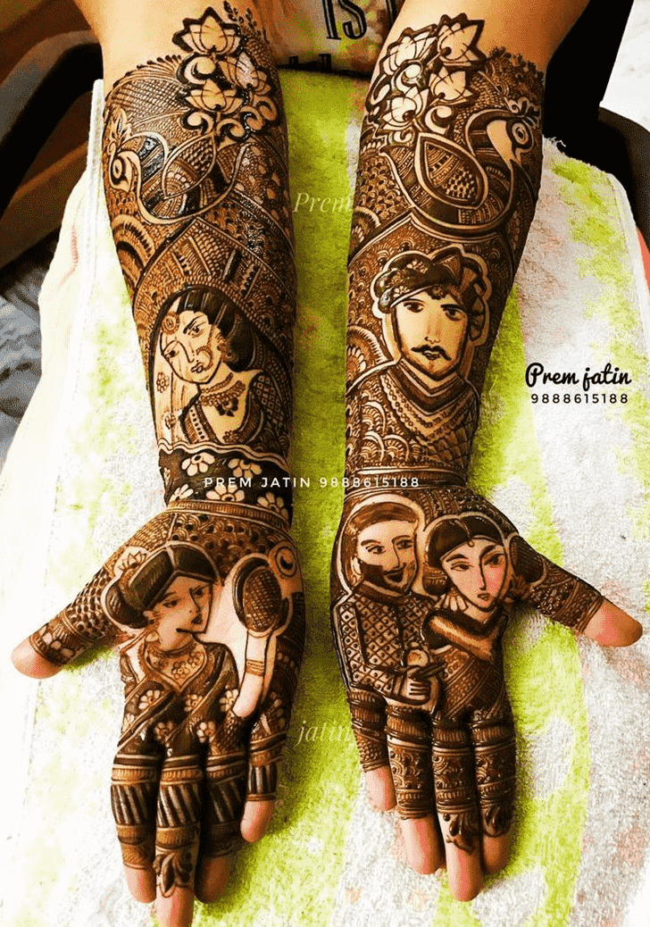 Appealing Desi Henna Design