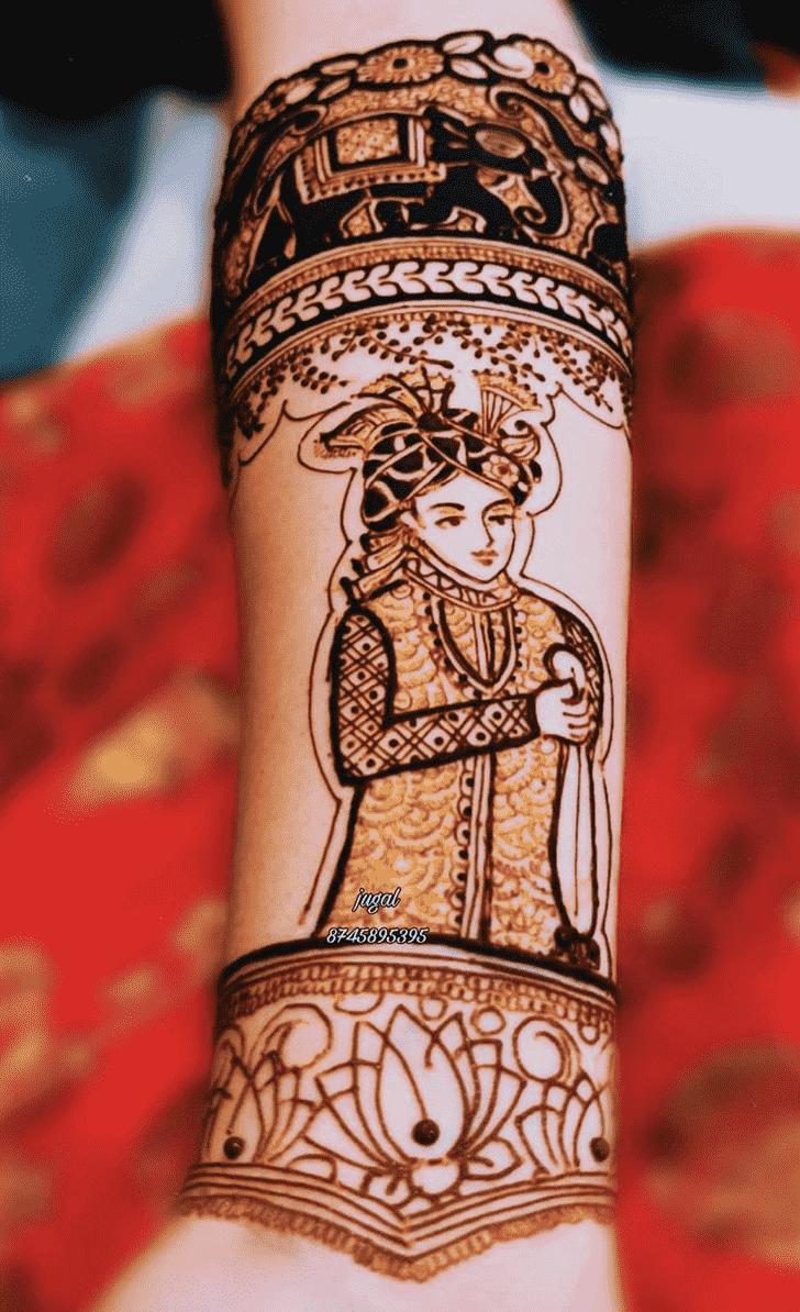 Bewitching Desi Henna Design