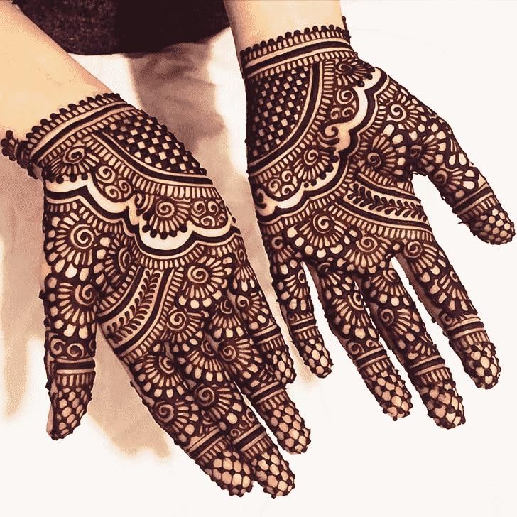 Appealing Designer Henna Design