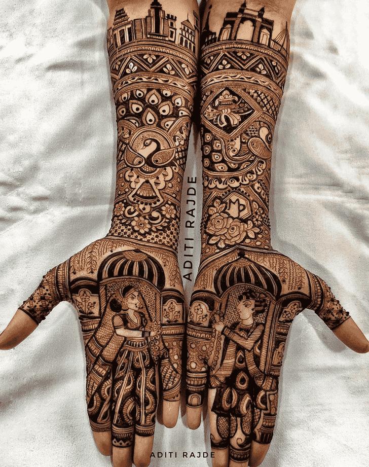 Beauteous Designer Henna Design