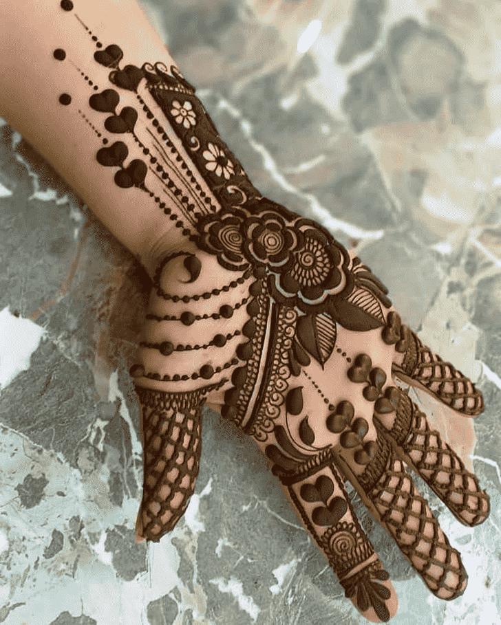 Captivating Designer Henna Design
