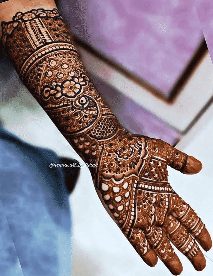 Charming Designer Henna Design