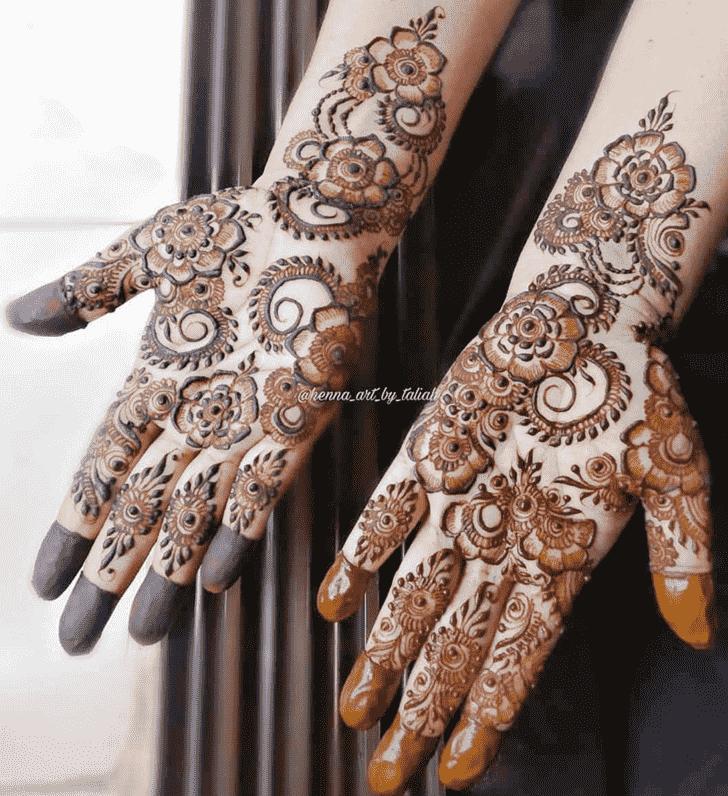 Classy Designer Henna Design