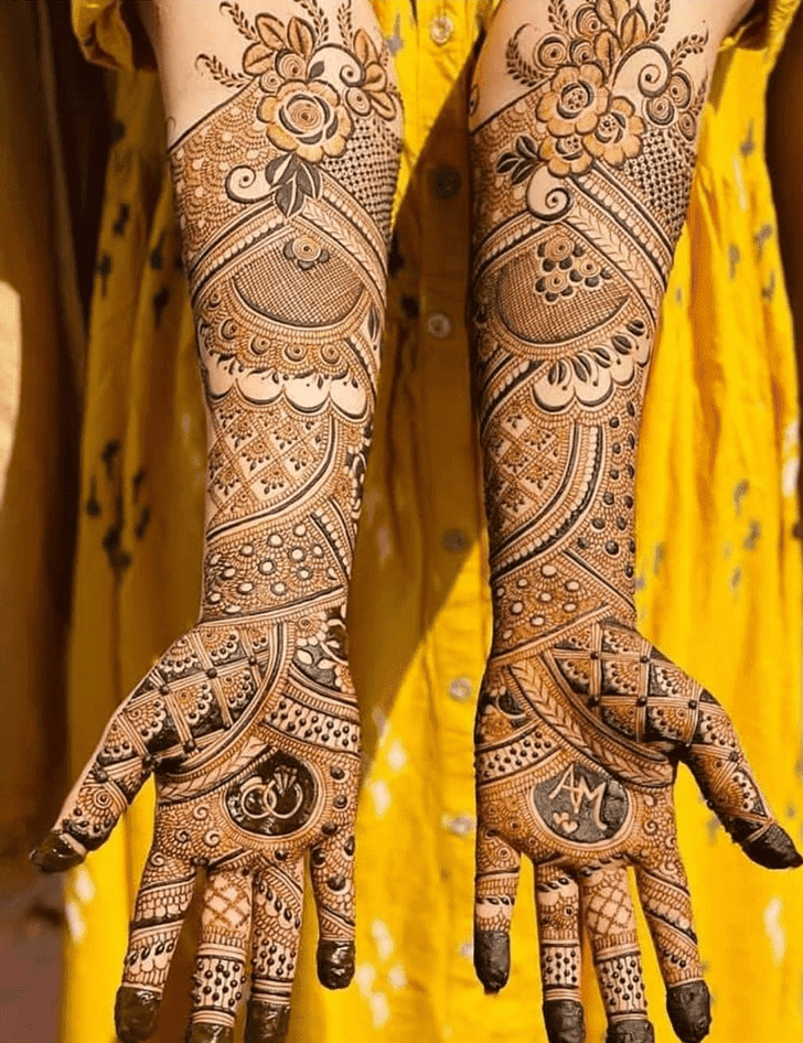 Admirable Dhaka Mehndi Design