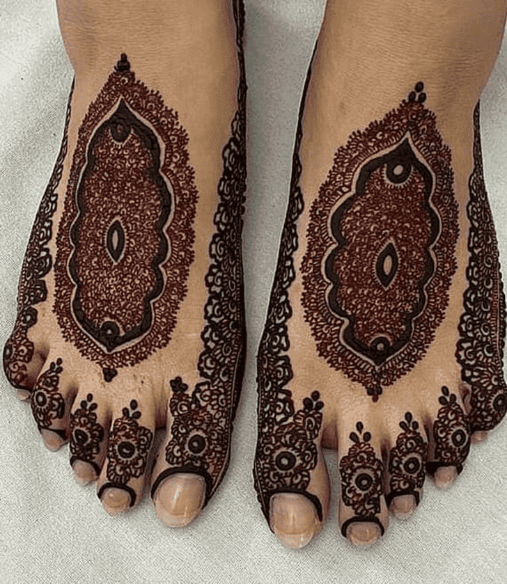 Adorable Dhaka Henna Design