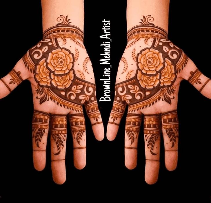 Angelic Dhaka Henna Design