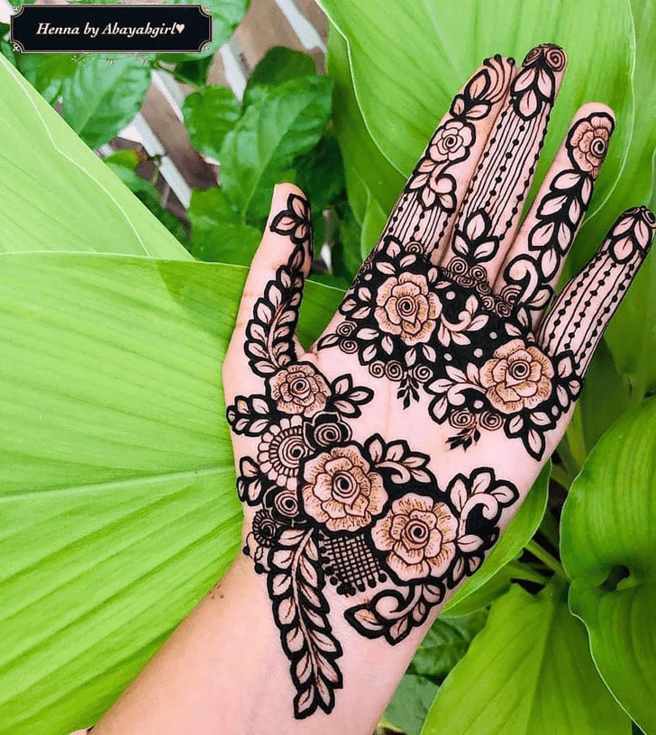 Beauteous Dhaka Henna Design