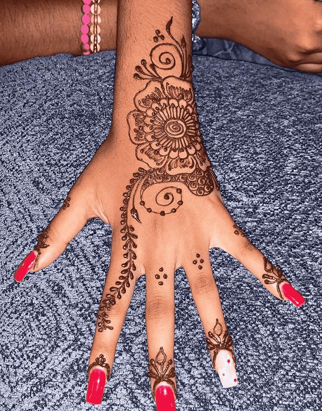 Alluring Dharamshala Henna Design