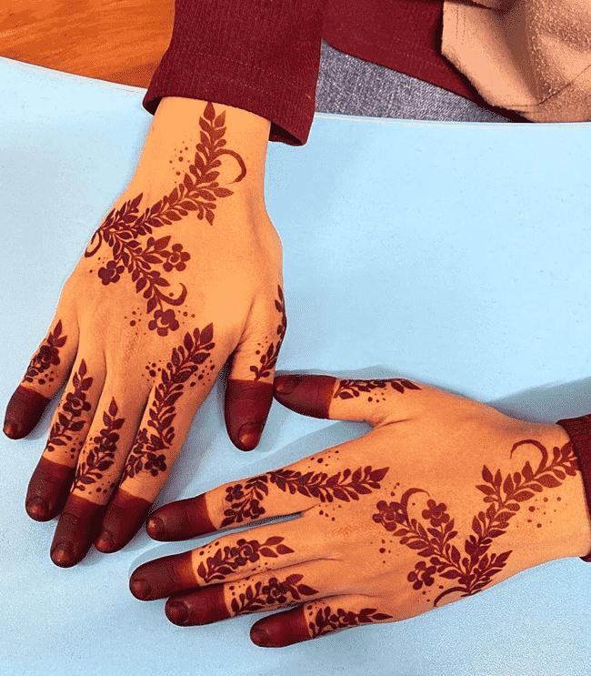 Appealing Dharamshala Henna Design