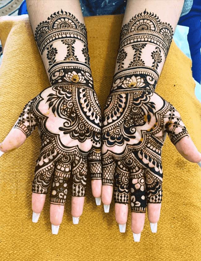 Captivating Dharamshala Henna Design