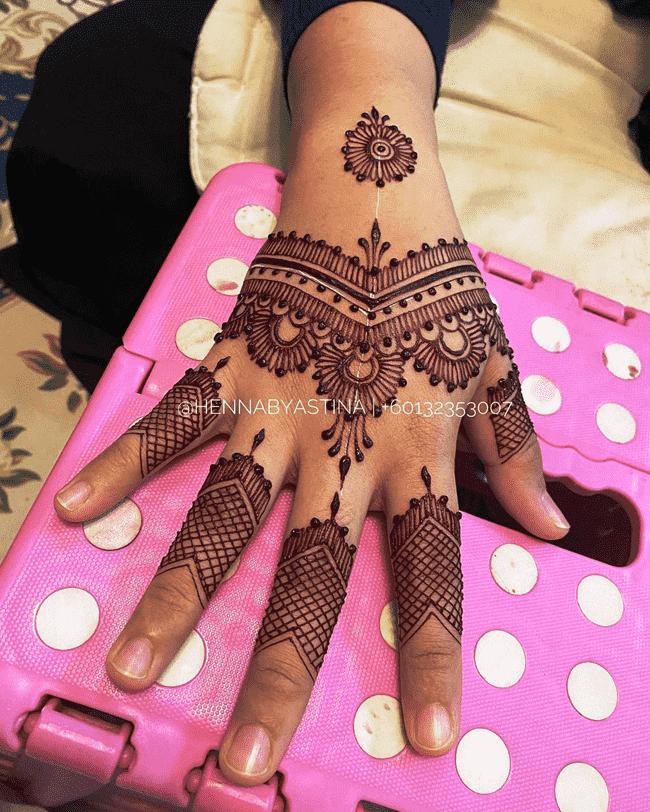 Charming Dharamshala Henna Design