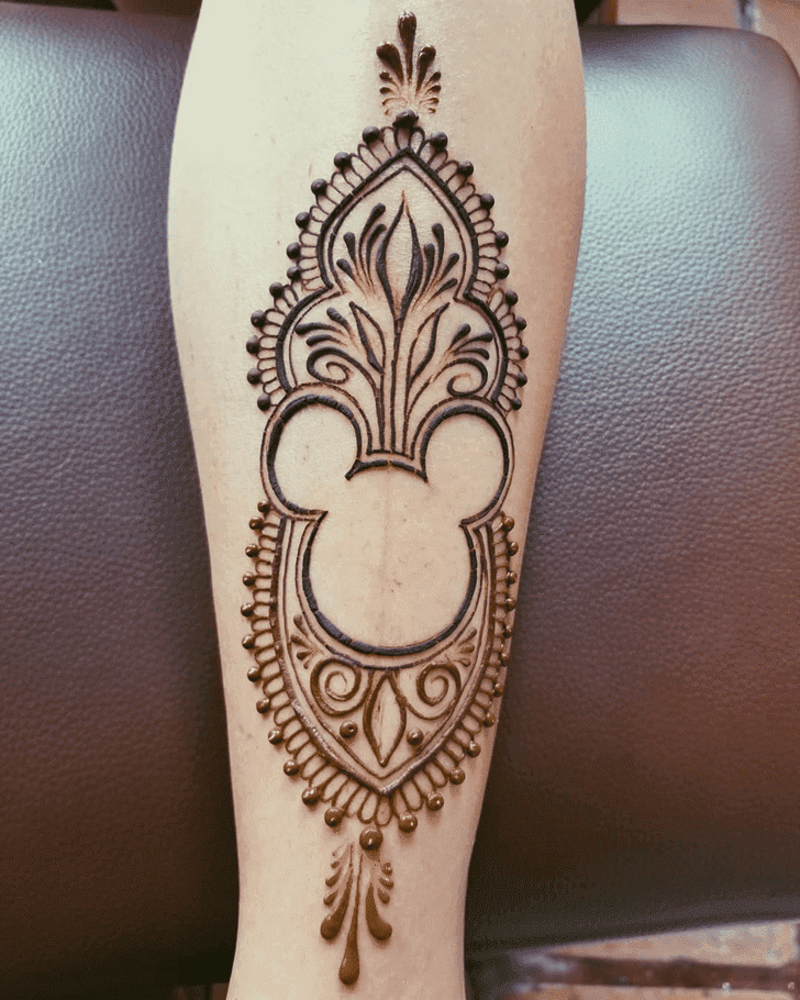 Adorable Disney Henna Design