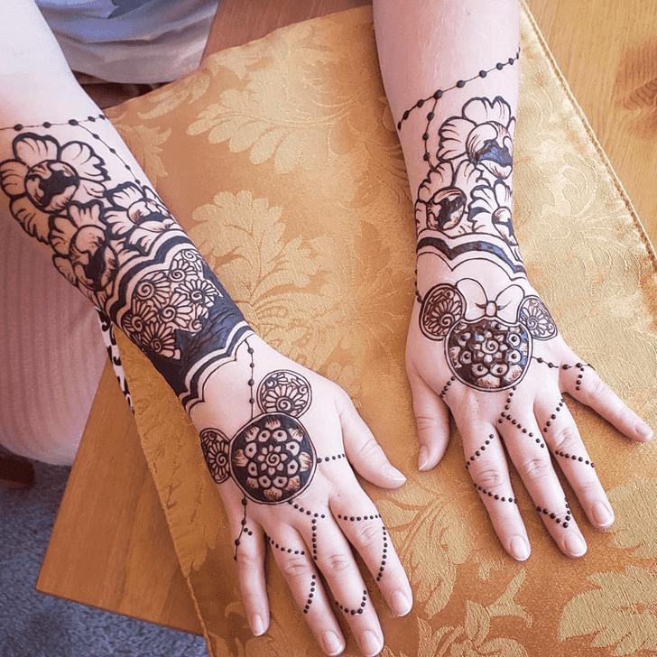 Appealing Disney Henna Design