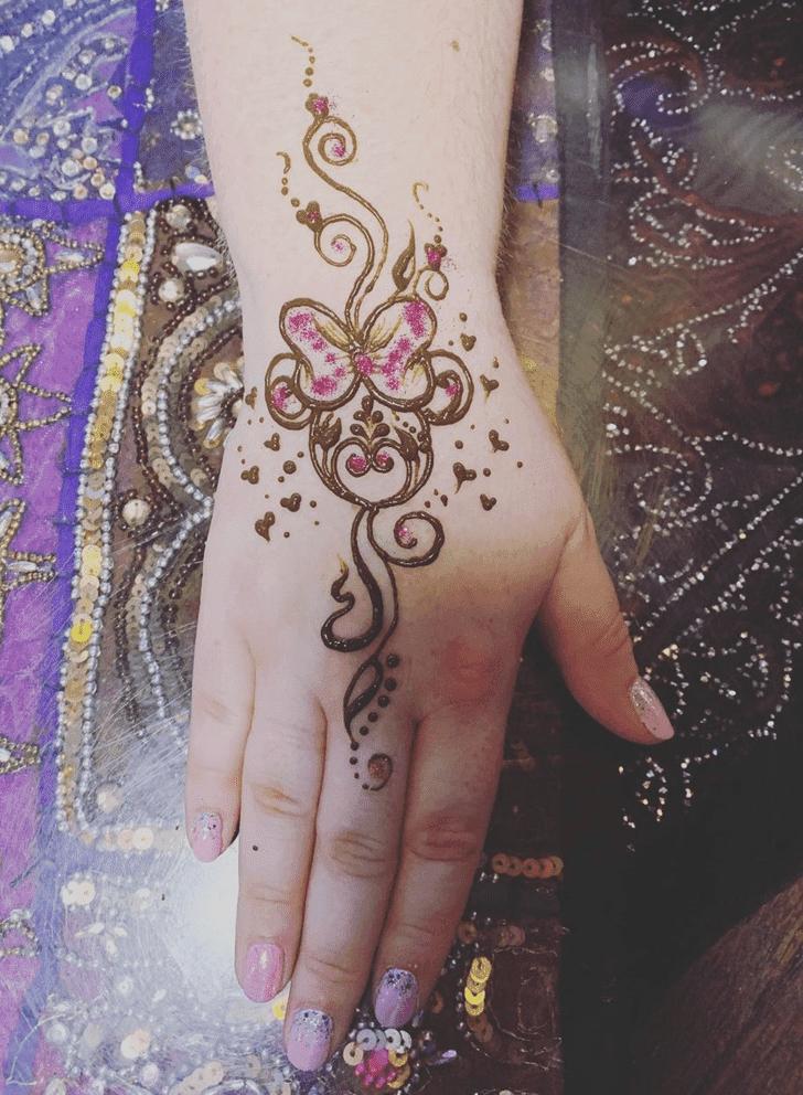 Beauteous Disney Henna Design