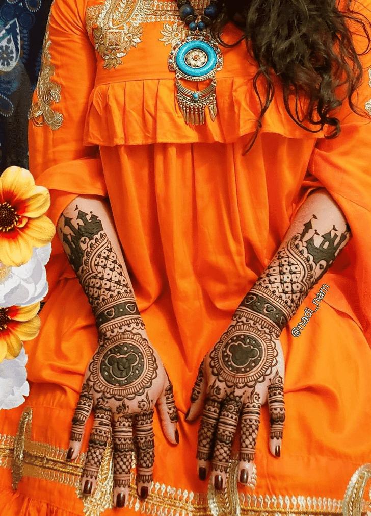 Nice Disney Henna Design