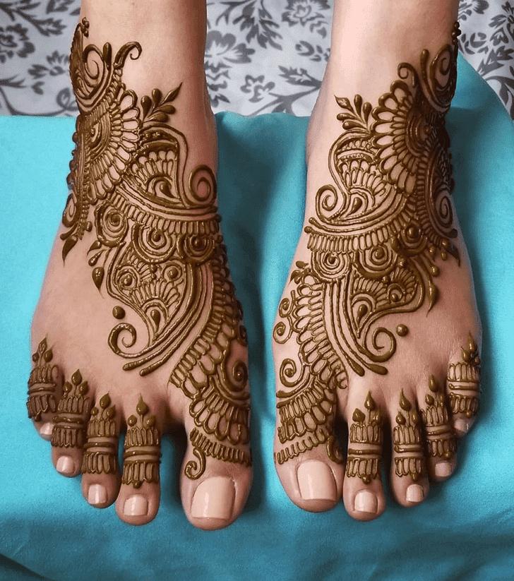 Angelic Divine Henna design