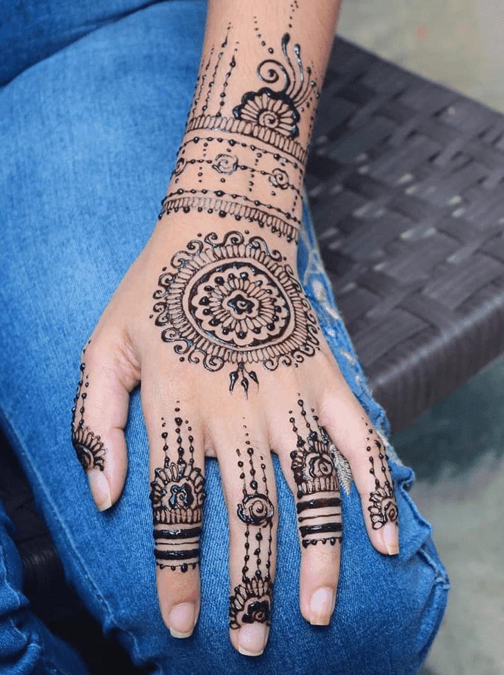 Delightful Diwali Henna Design