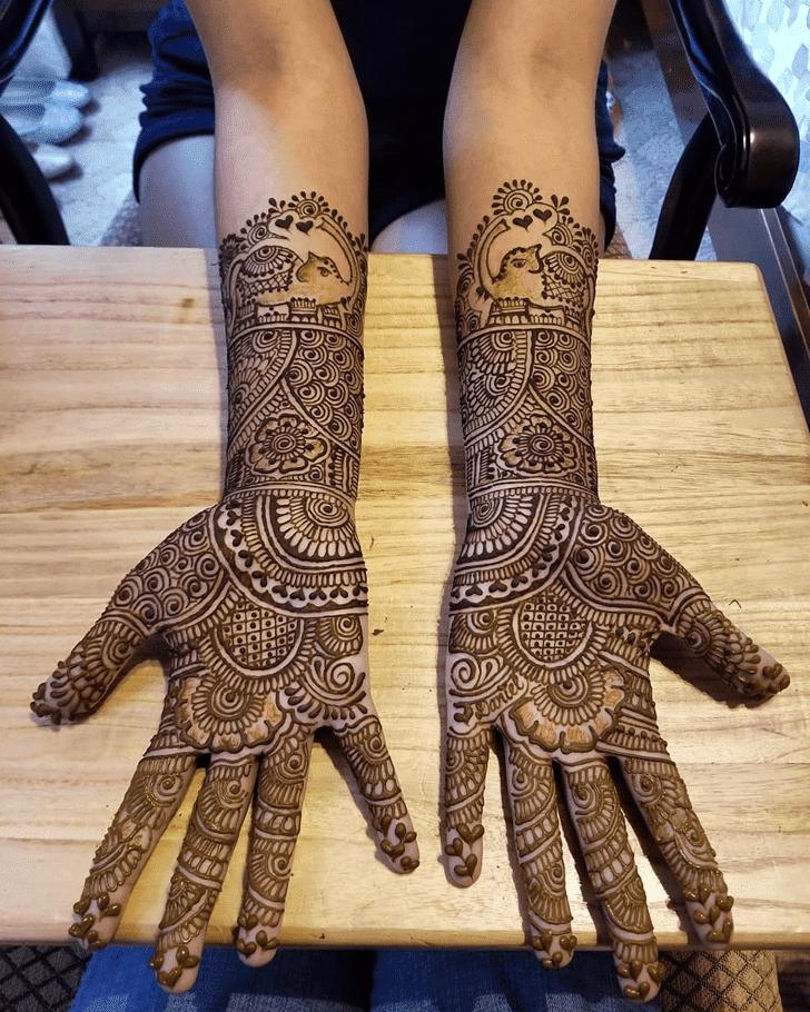 Excellent Diwali Henna Design